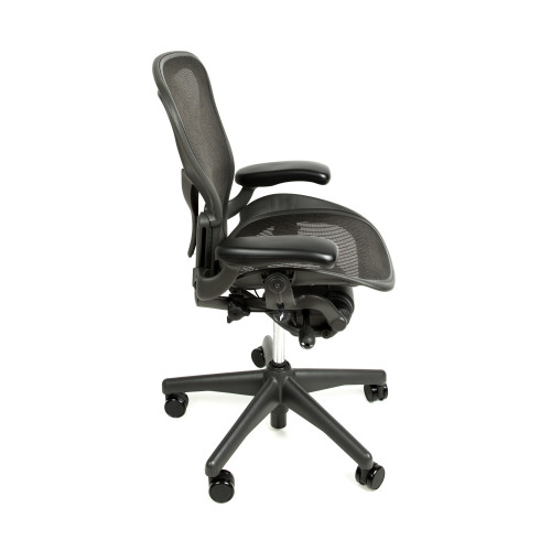 ... Herman Miller Aeron Chair Fully Adjustable with Posture Fit Back Support  sc 1 st  Beverly Hills Chairs & Herman Miller Aeron Chair Fully Adjustable with Posture Fit ... from ...