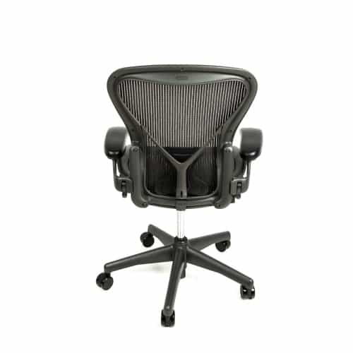 ... Herman Miller Aeron Chair Fully Adjustable with Posture Fit Back Support ...  sc 1 st  Beverly Hills Chairs & Herman Miller Aeron Chair Fully Adjustable with Posture Fit ... from ...