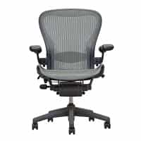 Herman Miller Aeron Chair Loaded Lead, Size B - Limited Time Special