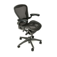 Herman Miller Aeron Chair Fully Adjustable Size A Graphite