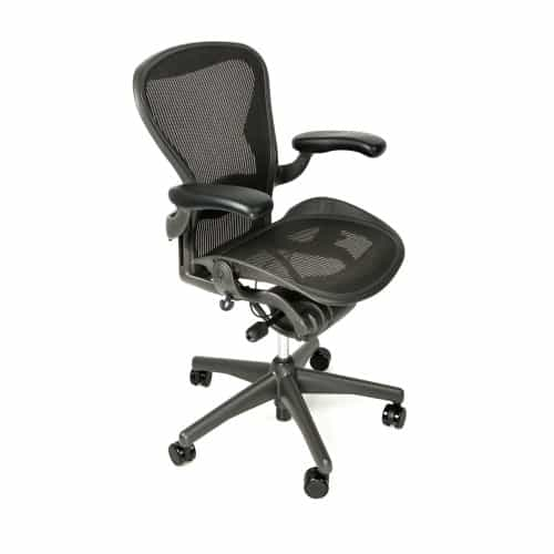 Herman Miller Aeron Chair Fully Adjustable Graphite