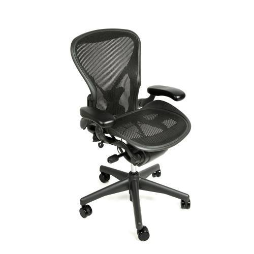 Herman Miller Aeron Chair Fully Adjustable with Posture Fit Back Support