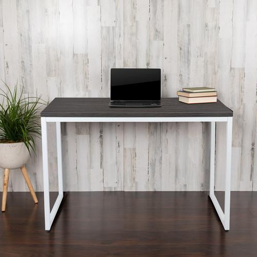Deskiva Rustic Grey Desk