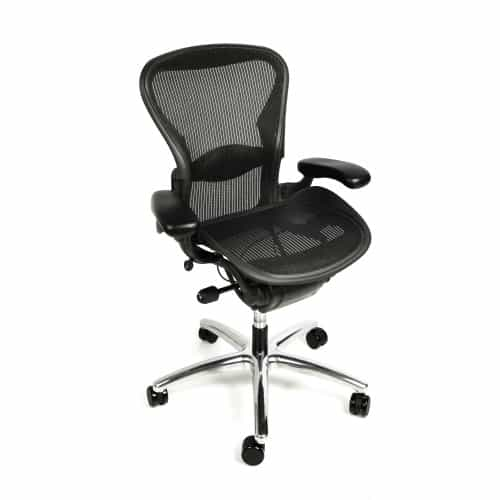 Herman Miller Aeron Chair Fully Adjule With Polished From Beverly Hills Chairs