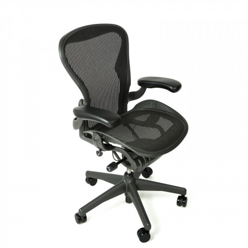 Herman Miller Aeron Chair Standard Classic Size B Graphite