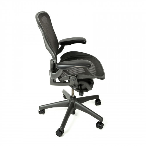 herman miller aeron chair standard classic size c graphite from