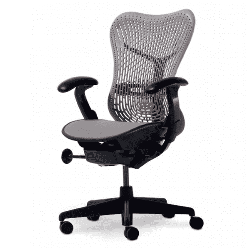 Herman Miller Mirra Chair Fully Loaded With Posture Fit Support