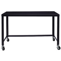 Mobile Steel Workstation - Black