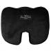 Enhanced Seat Cushion - Non-Slip Orthopedic Gel & Memory Foam Coccyx Cushion for Tailbone Pain - Office Chair Car Seat Cushion - Sciatica & Back Pain Relief (Black)