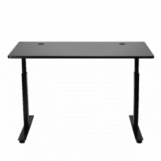 StandDesk - Leading Sit to Stand Motorized Desk - Black Top