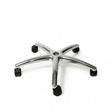 Polished Aluminum Base for Herman Miller Aeron