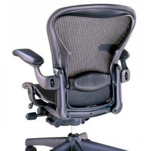 ... Lumbar Support Pad For Herman Miller Aeron Chairs ...