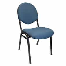Stackable Ergonomic Conference Chair-Blue