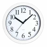 Round Wall Clock - White
