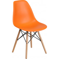 Sophie -- Orange Side Chair