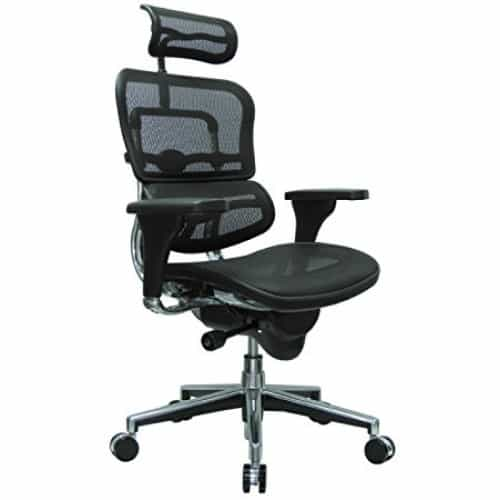ErgoHuman High-Back Mesh Chair - (All Colors)