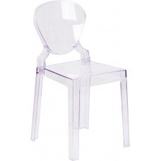 Ghost Side Chair -- Tear Back