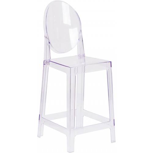 Tear Ghost Barstool 30""