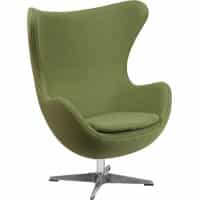 Egg Chair - Green Fabric