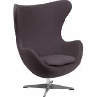 Egg Chair - Gray Fabric