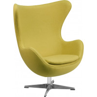Egg Chair - Citron Fabric