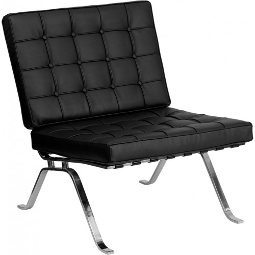 Ares Leather Lounge Chair