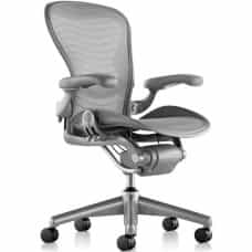 Herman Miller Aeron Fully Loaded Size C Titanium
