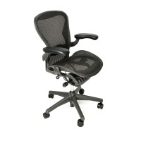 Herman Miller Aeron Chair Fully Adjustable Size B Graphite