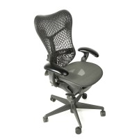 Herman Miller Mirra Chair Fully Loaded with Posture Fit Support Graphite
