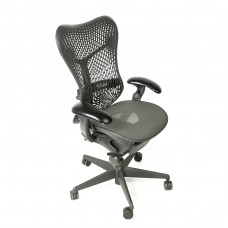 Herman Miller Mirra Chair Fully Loaded with Triflex Adjustable Lumbar Support Graphite