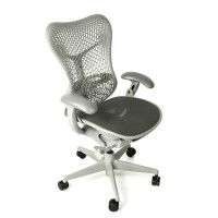 Herman Miller Mirra with Posture Fit Support All Grey