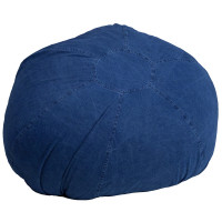 Oversized Bean Bag Chair - Denim