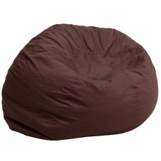 Oversized Bean Bag Chair - Brown