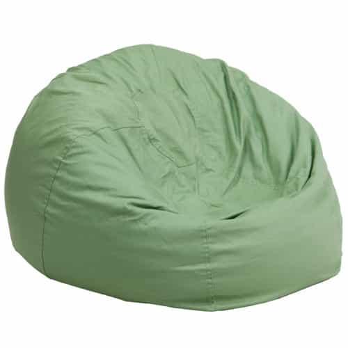 Oversized Bean Bag Chair - Green