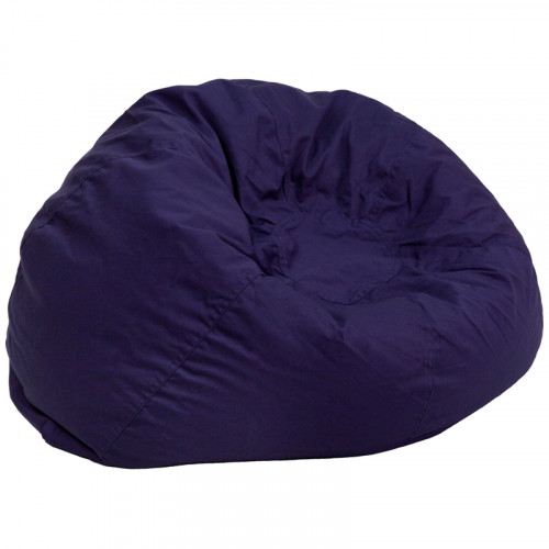 Oversized Bean Bag Chair - Navy