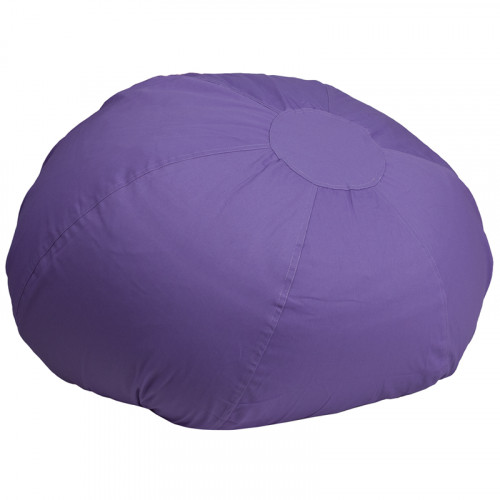Oversized Bean Bag Chair - Purple