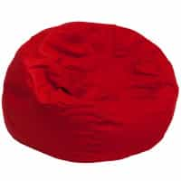Oversized Bean Bag Chair - Red