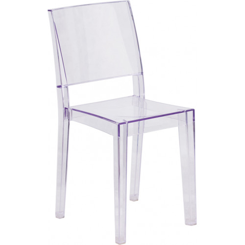 Ghost Side Chair -- Square