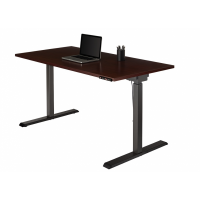 Electronic Height Adjustable Desk with Memory Pad