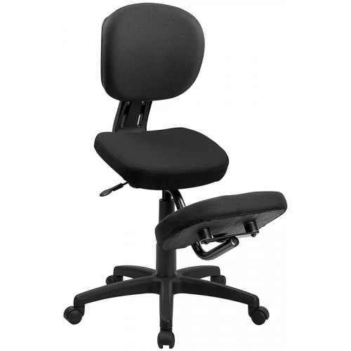 Mobile Ergonomic Kneeling Task Chair