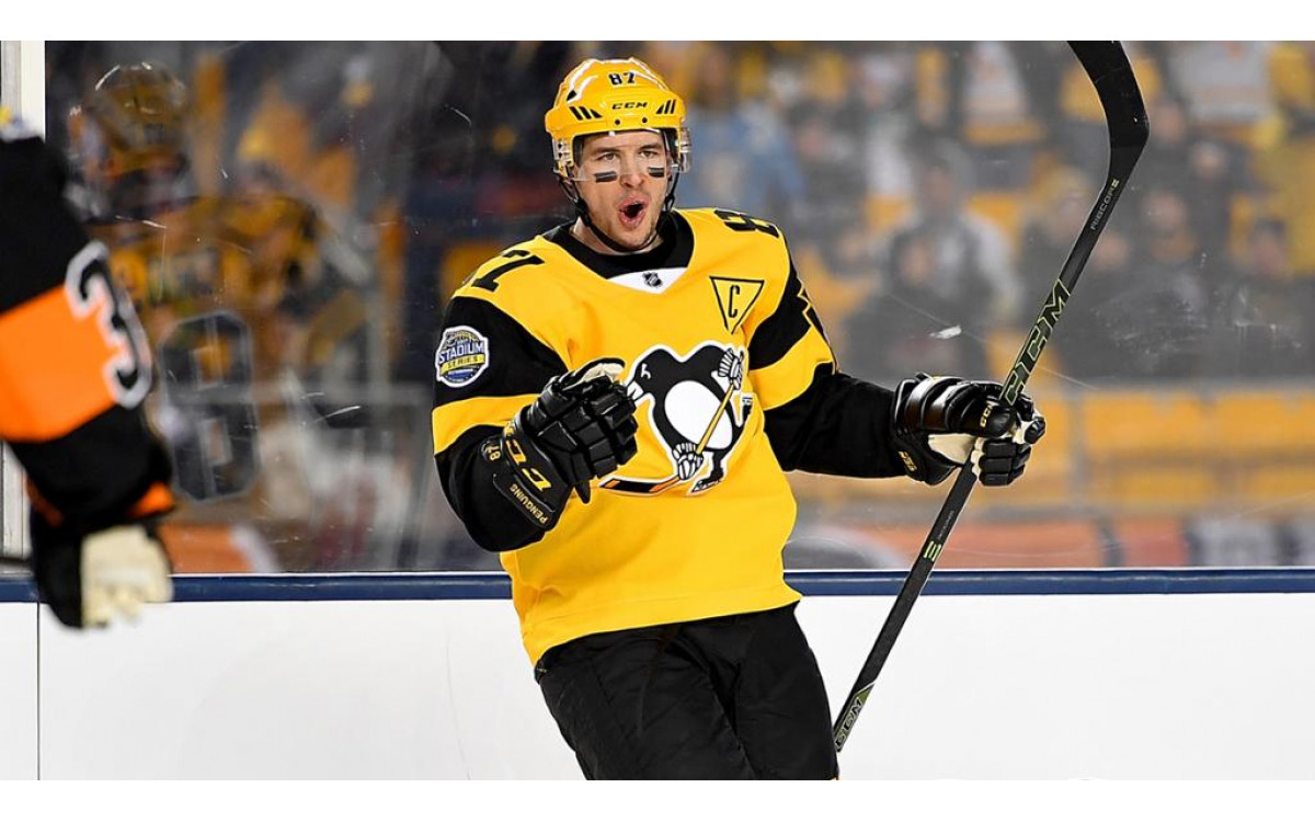 Sidney Crosby: The Golden Boy of the National Hockey League