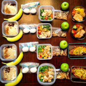 smart shopper, food prepared in large batches, meal plan
