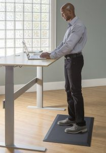 sit to stand, herman miller, herman miller aeron, sit-stand, anti fatigue mat